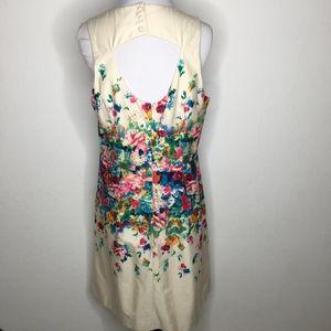 Maeve Dresses - Anthropologie Maeve Tea Garden Floral Sheath Dress